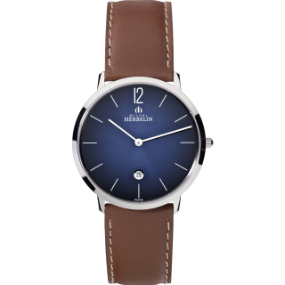 City Quarz 19515/15 Michel Herbelin Herren swiss made EAN 3661132109145