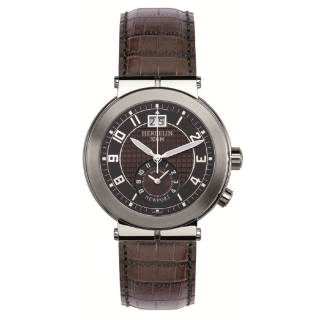 Newport Dualtime 18456/48MA Michel Herbelin Quarz Dual Time Herren swiss made EAN 3661132096629