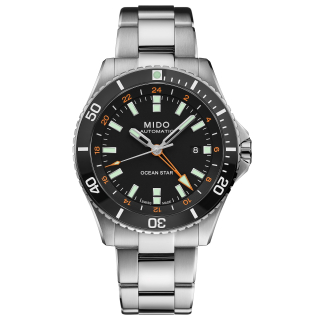 Ocean Star Captain Diver GMT Cal. 80  M026.629.11.051.00 Mido Herren Automatik swiss made EAN 7612330138648